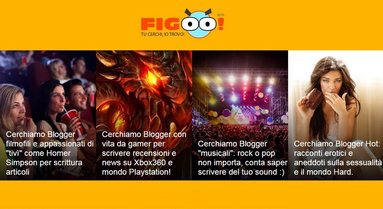 Figoo.it, network di blog verticali curati con passione