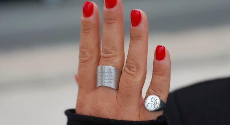 anello da mignolo donna